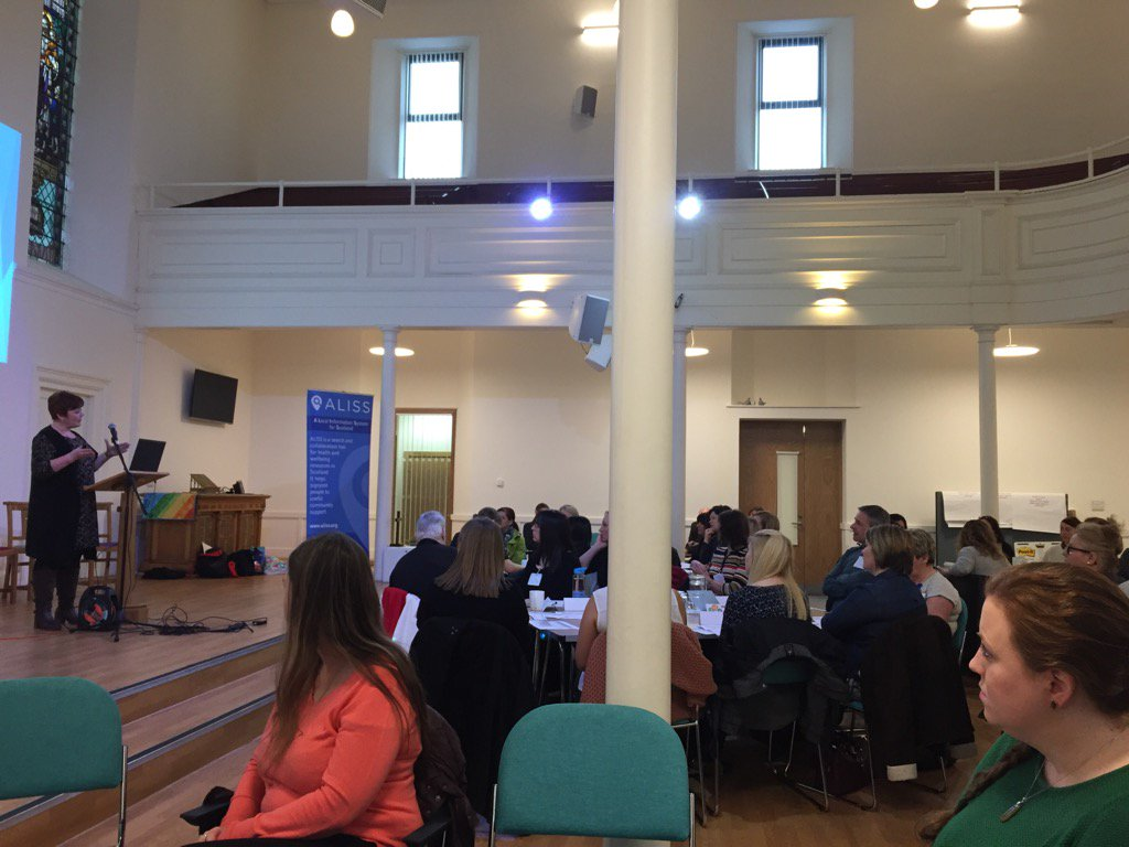 Great turnout for the @AilipScot @ALLIANCEScot & TSI North Ayrshire event w/ AHPs & third sector-@GrierAILIP #AILIP https://t.co/xBqTgD2T5d