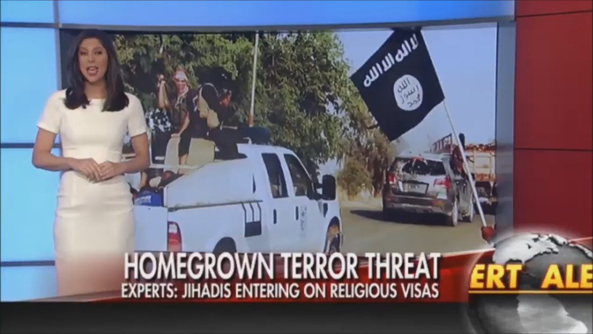 FOX NEWS ALERT: Jihadis using religious visa to enter US, experts warn (via @FoxFriendsFirst)