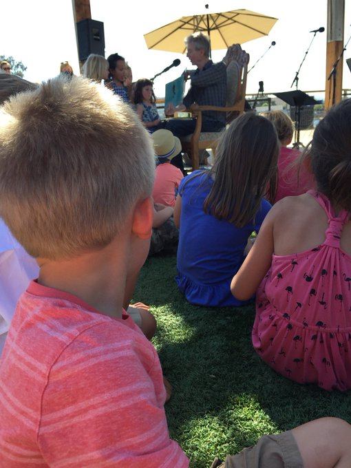 Happy birthday Phil Lesh! Here he is reading Lucky Ducklings to my kid.