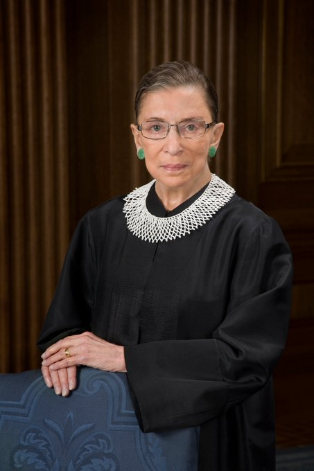Happy birthday to Ruth Bader Ginsburg--a fighter and role model. May she have many more.