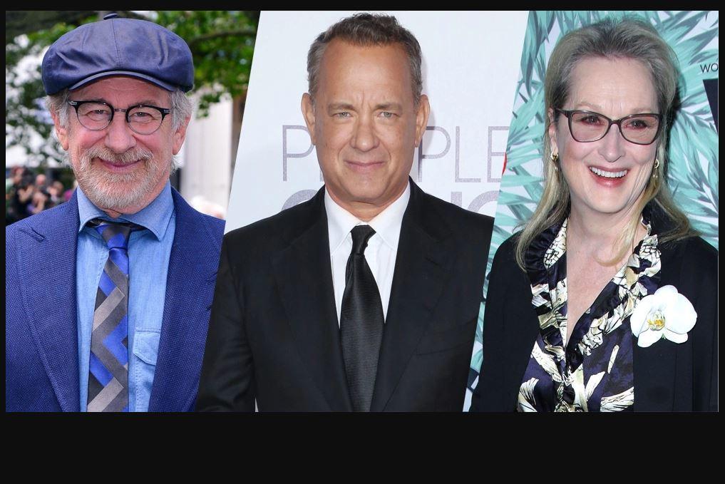 Gran expectativa causa una cinta que será dirigida por #Spielberg y protagonizada por Meryl #Streep y Tom #Hanks.  http:// ow.ly/cw0G309VChj  &nbsp;  <br>http://pic.twitter.com/KtpY1sGW4U