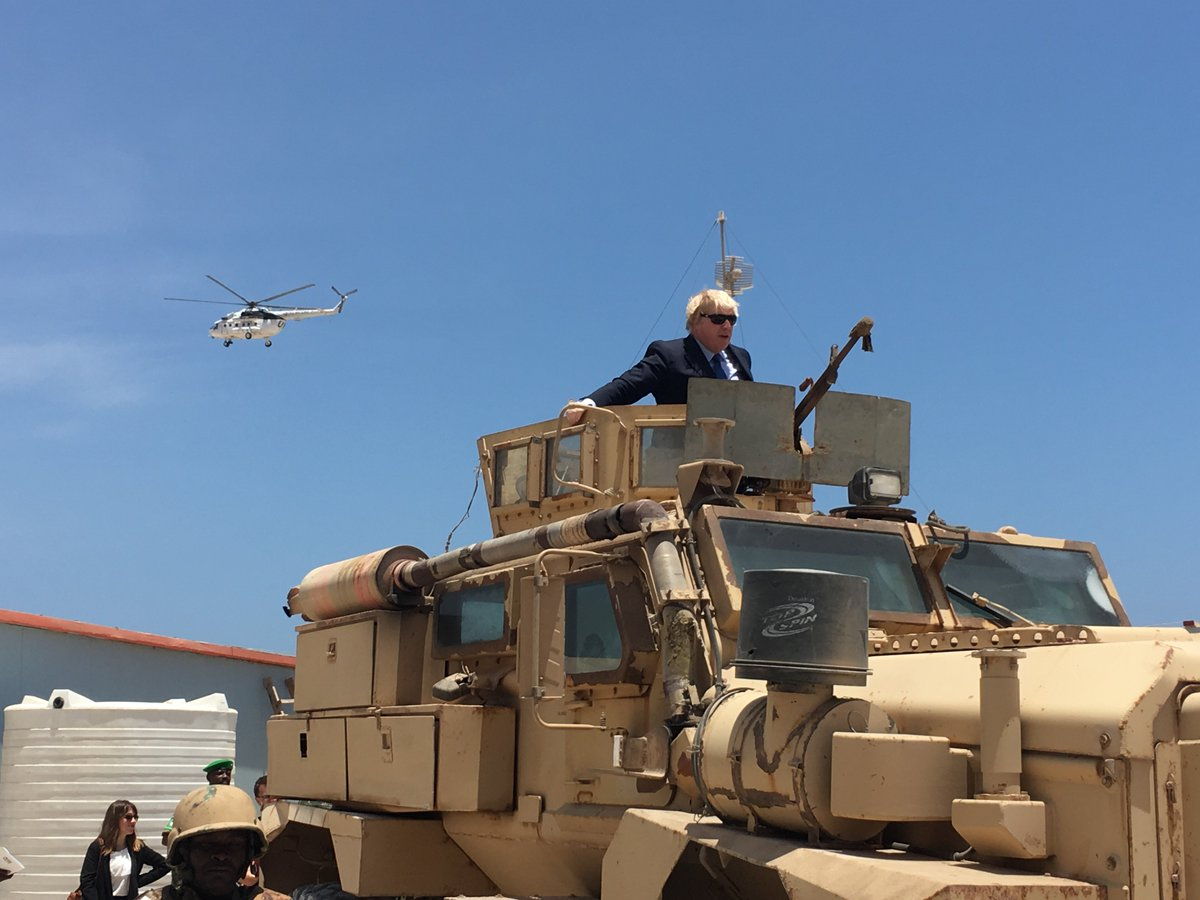 UK's Boris Johnson visits Mogadishu https://t.co/WDjAgo9cSm #BBCAfrica...