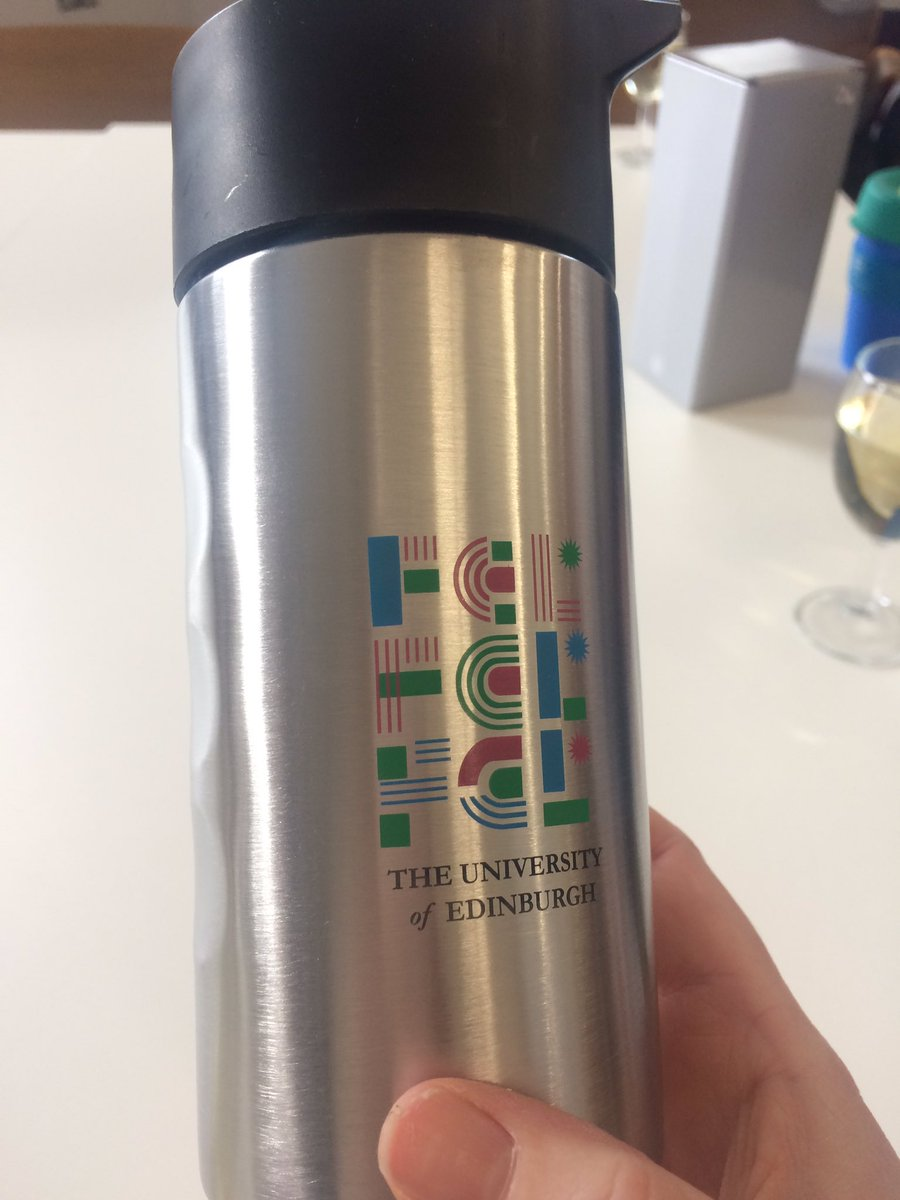Cute travel mug from the @UoE_FCL team. 😊 https://t.co/24OdrepM0f