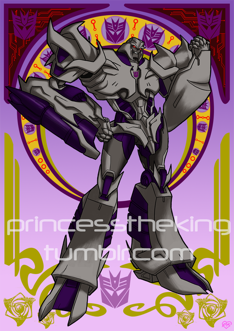 Megatron (Transformers Prime)  Happy Birthday Frank Welker!!!