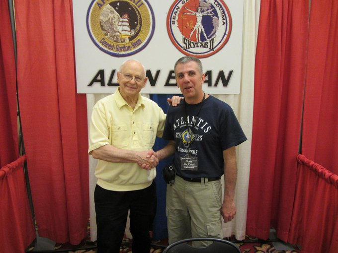 Happy 85th Birthday to Alan Bean, the 4th man to walk on the Moon!