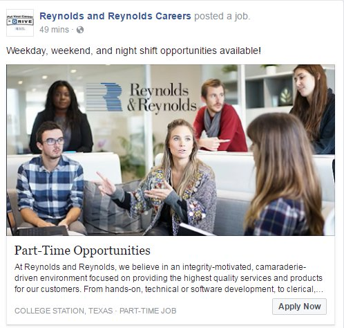Reynolds And Reynolds Careers On Twitter We Re Looking For Part