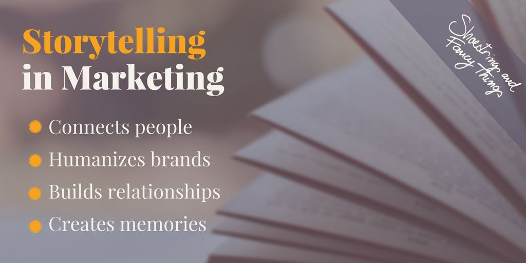 #Storytelling helps us break through a tremendous amount of noise and form authentic relationships with our audiences. #GuruChats https://t.co/s61EfllZye