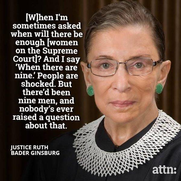 Happy 84th Birthday, Ruth Bader Ginsburg.  Stay healthy, please.
