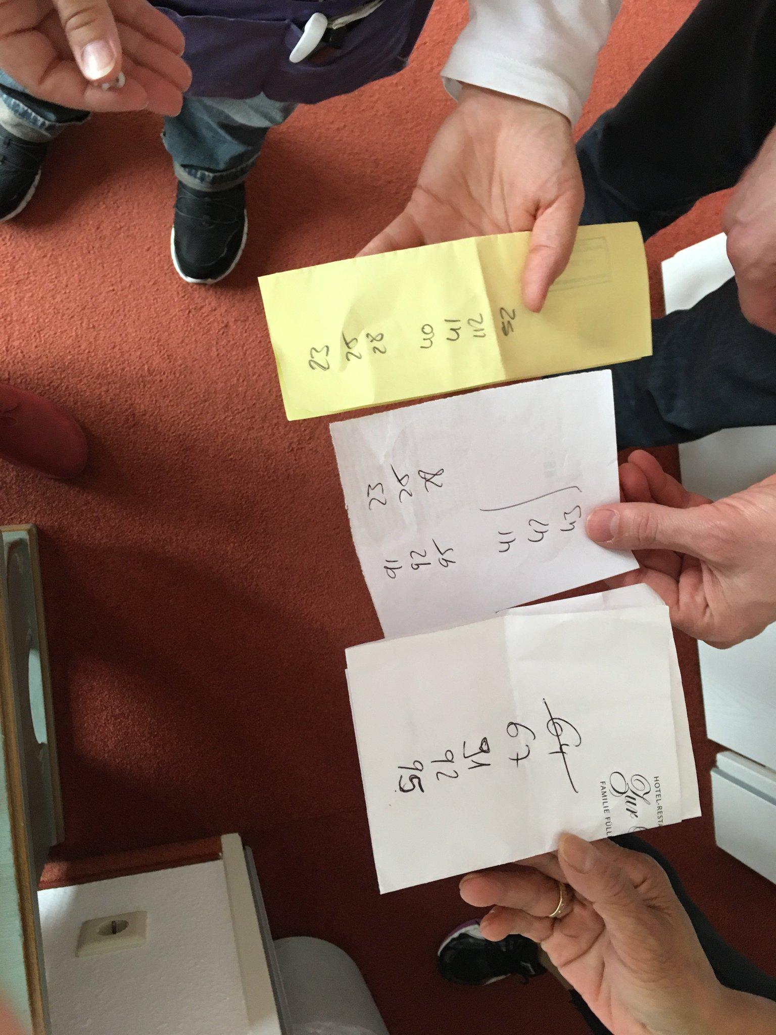 Heute stehen Hotelzimmerfotos auf dem Programm. Wir spielen Zummernummern-Lotto #meurers #hotelzurpost https://t.co/DyIPu1VVUd