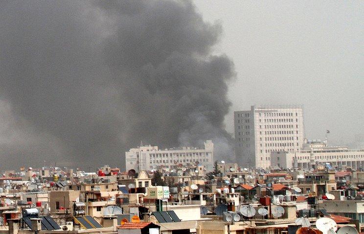 Сирия потрясена двойным терактом в Дамаске