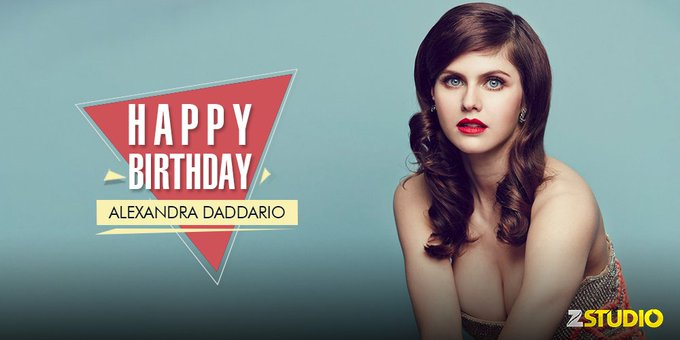 Happy birthday to the Texas Chainsaw star, Alexandra Daddario! Send in your wishes soon!