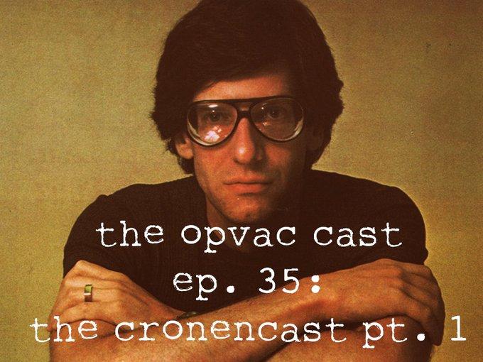 Happy Birthday David Cronenberg! Part 1 of our horror retrospective: