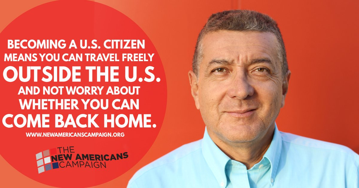 Why become a naturalized citizen? It gives you a chance to travel freely. Learn more at https://t.co/zROLzjZWTQ #NewAmericans https://t.co/SNYomWu7vL