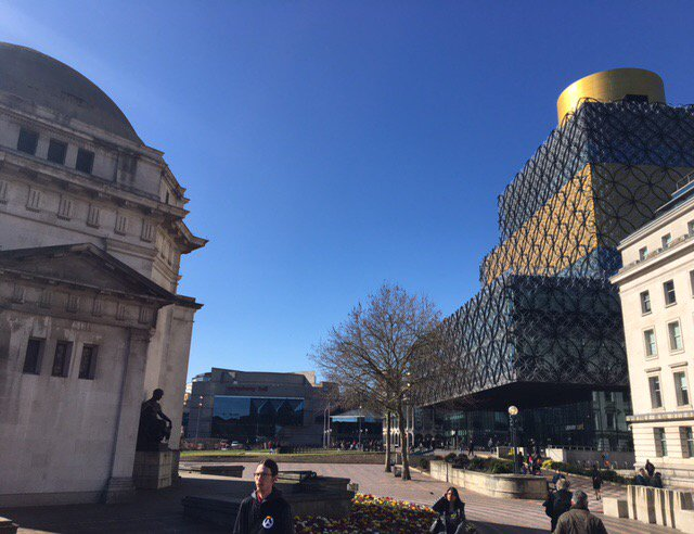 Great to be out & about in #Birmingham for a pre-LGA conf visit! Have you booked yr place for #lgaconf17 yet?