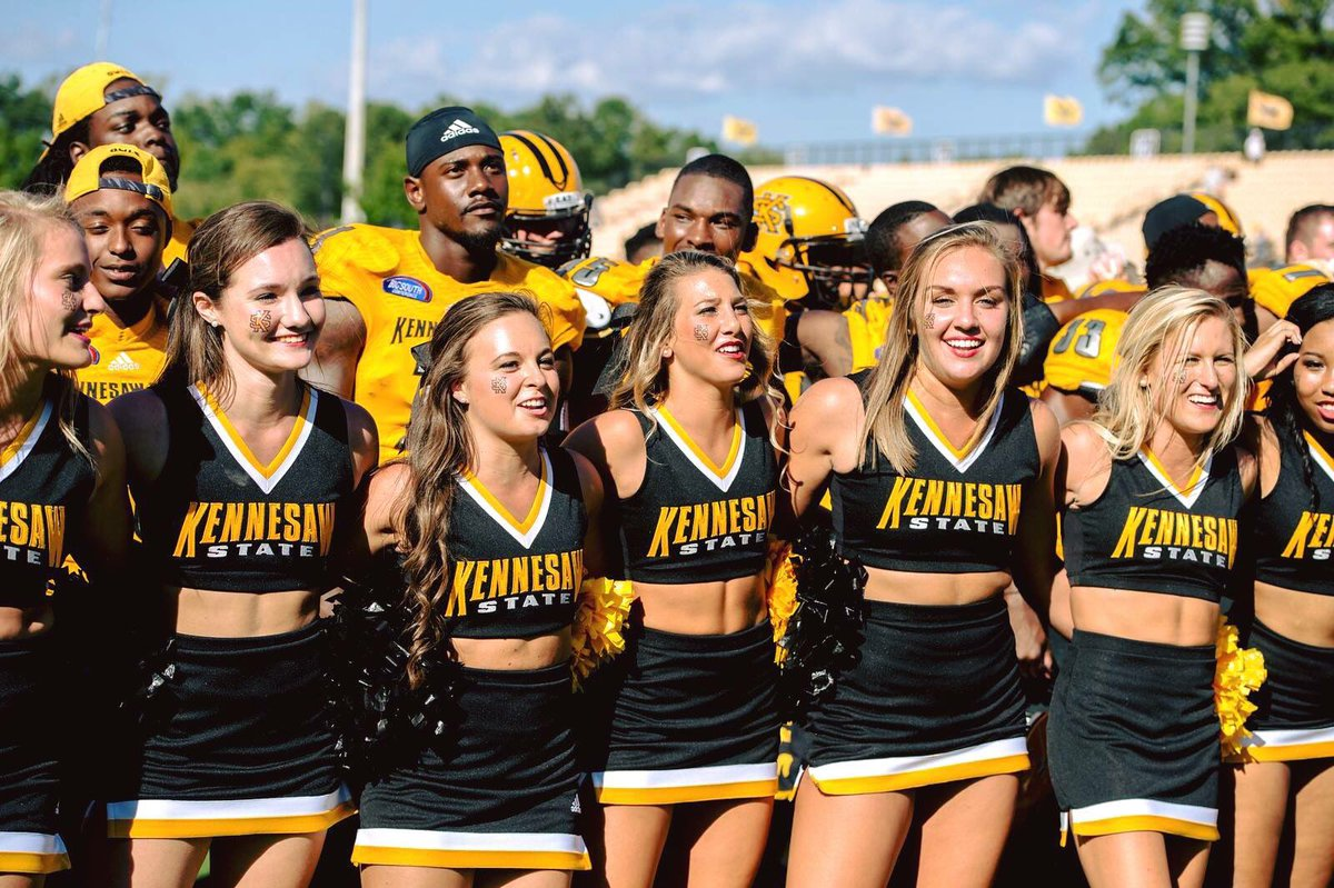 Kennesaw State University >> Kennesaw State Cheer On Twitter Big Announcement May 13th