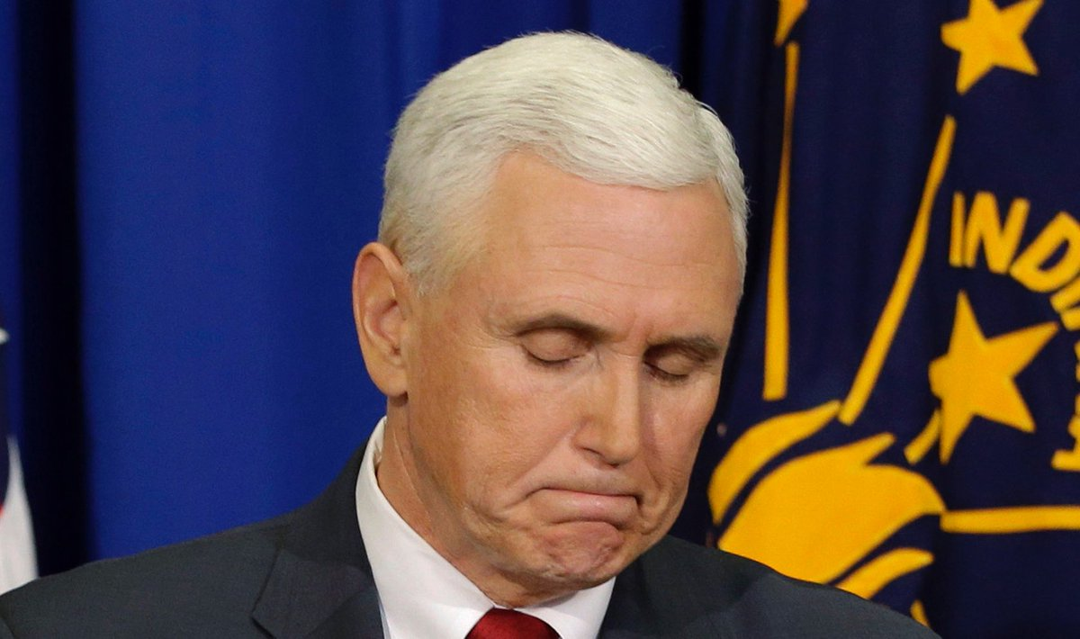 The internet refuses to let Pence forget about his email scandal