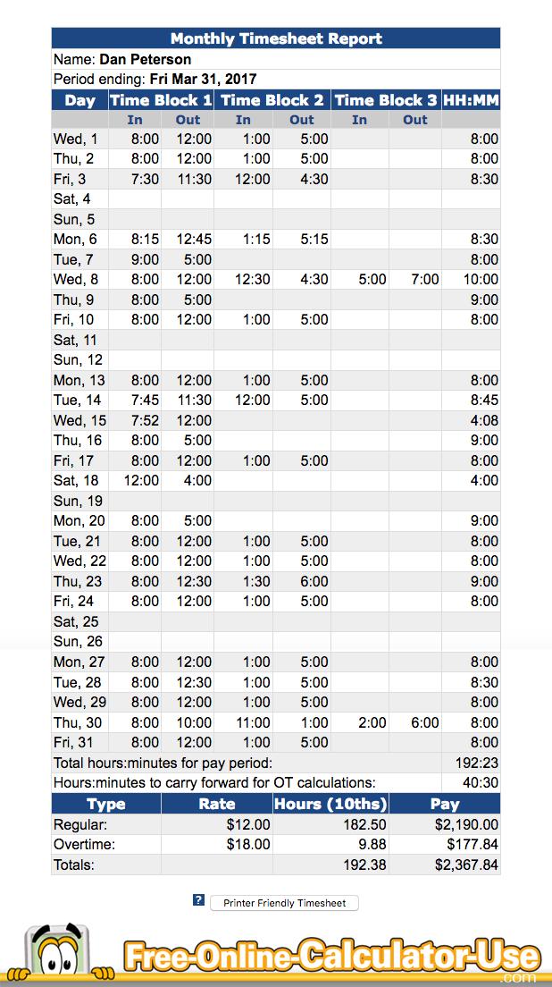 online time sheet calculator koni polycode co