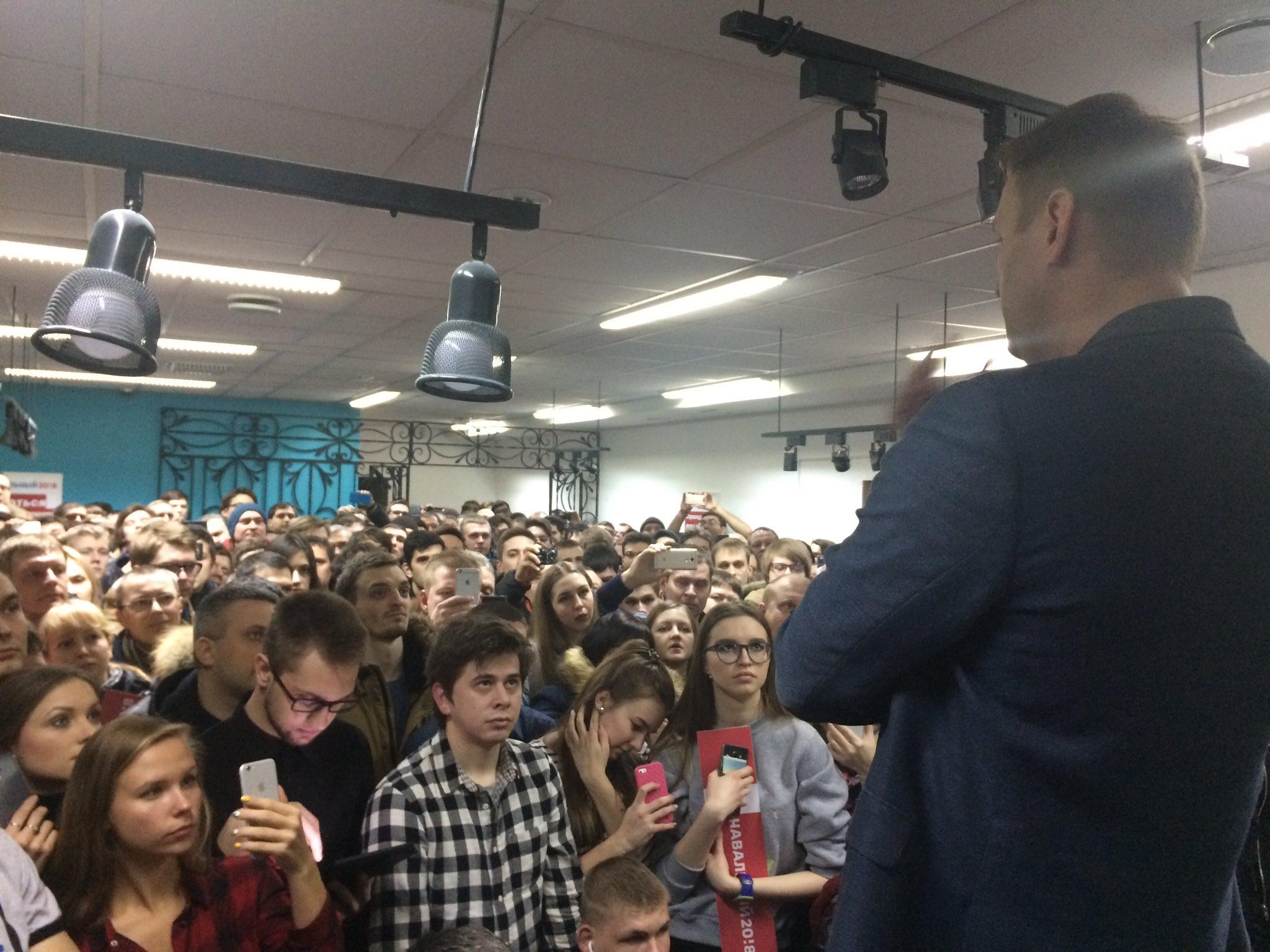 открытие штаба навального в красноярске фото фотошоп перед отправкой