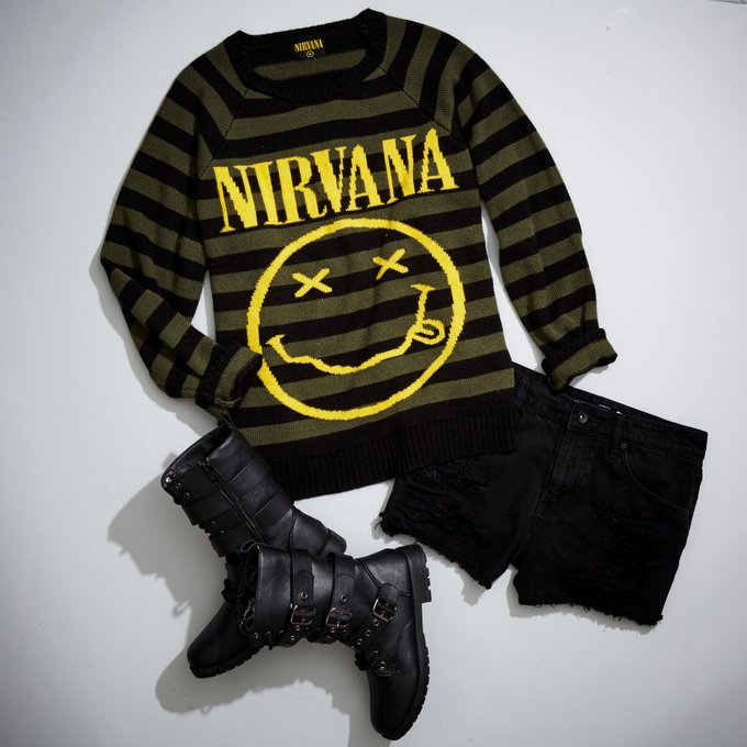 Nirvana Shirts & Merch