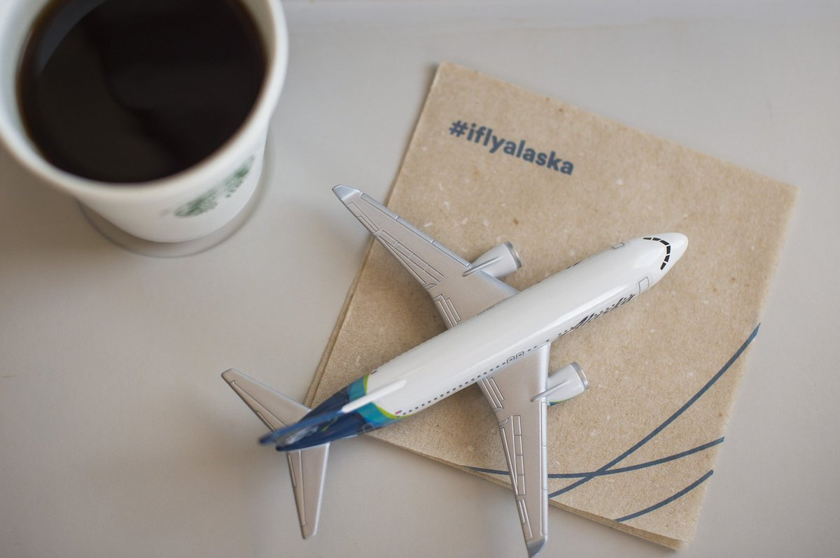 alaska airlines on helping you stay awake on those early alaska airlines on helping you stay awake on those early morning flights by proudly serving starbucks coffee