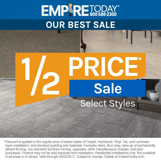 Empire Today On Twitter Our BESTSALE Price Carpet - Flooring stores near here