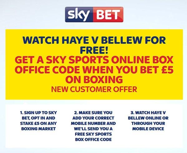 SkyBet live