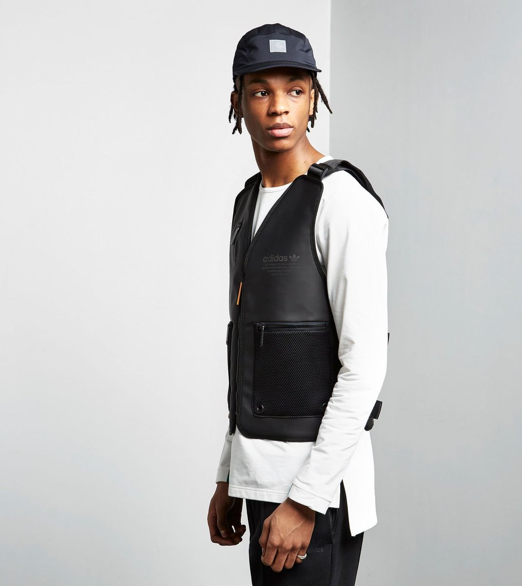 """Just know, when I come through with this adidas NMD """"bulletproof"""" vest, I'm ready for whatever, B. https://t.co/Fy3v7MAcio"""