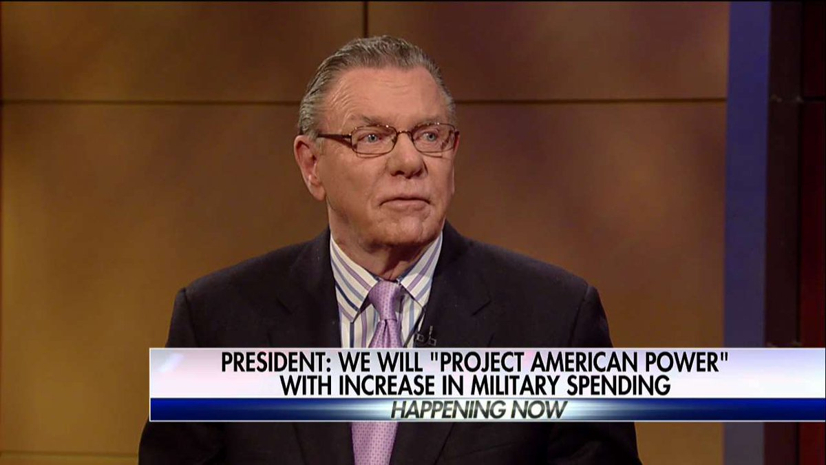 General Jack Keane: 'We definitely have to conduct an increase in the defense budget.'