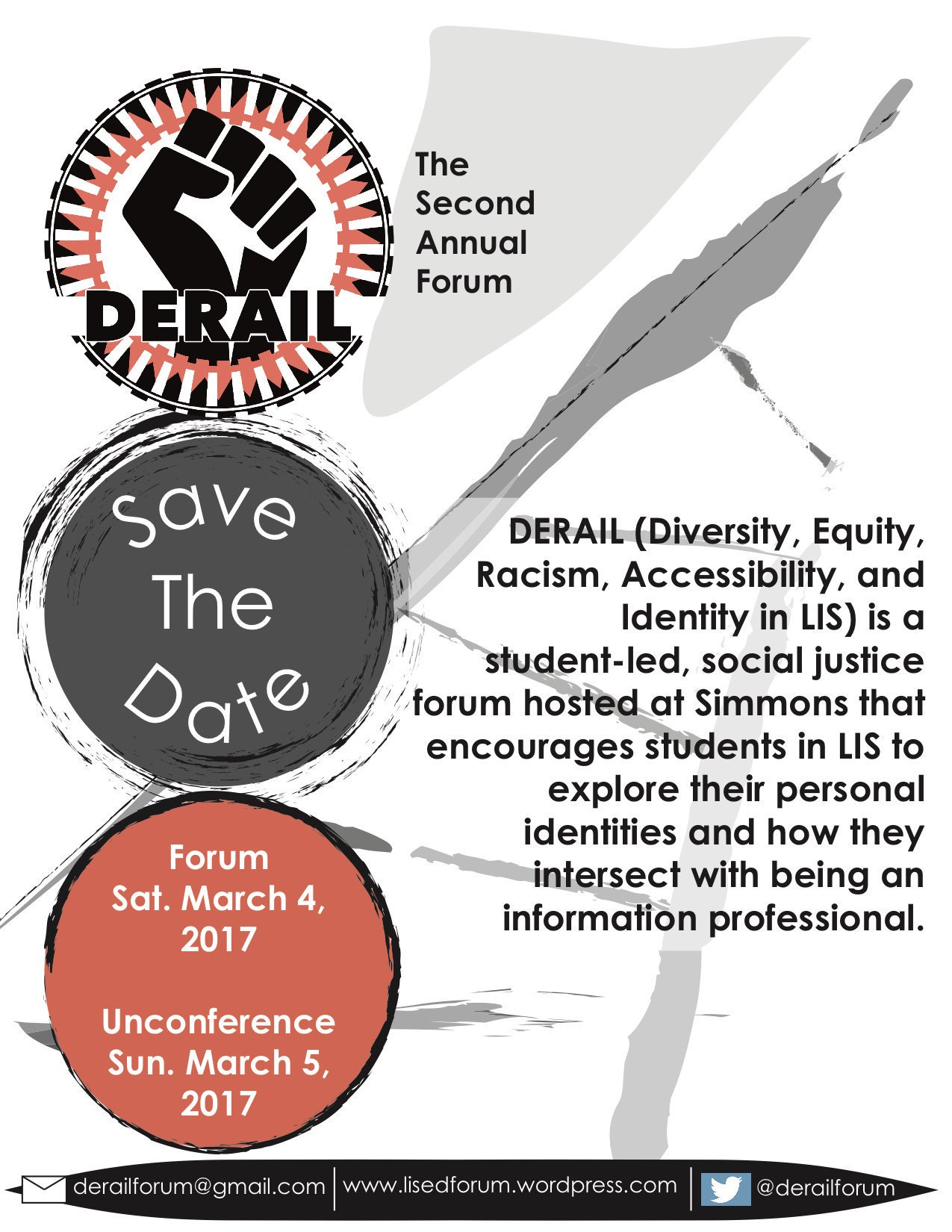Happy #DERAIL2017! We'll be posting live updates from @derailforum all day. Full schedule here! https://t.co/CEfrF6AgO0 https://t.co/oZ4ugJmqWJ