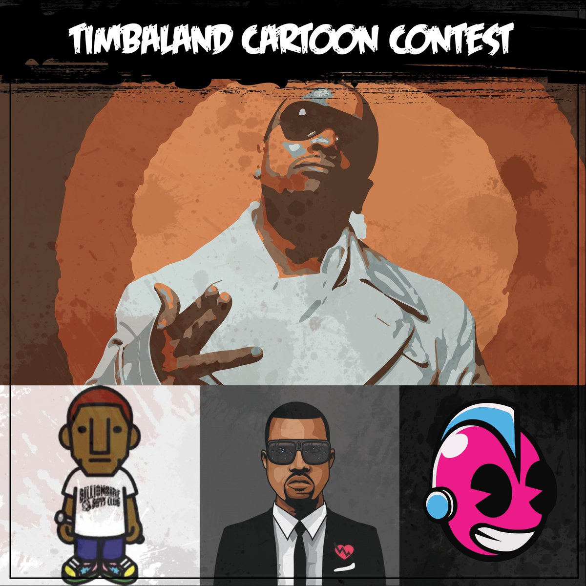 Timbaland On Twitter Can You Turn Me Into A Cartoon Character Create A 2d Cartoon Caricature Of Me In Any Style