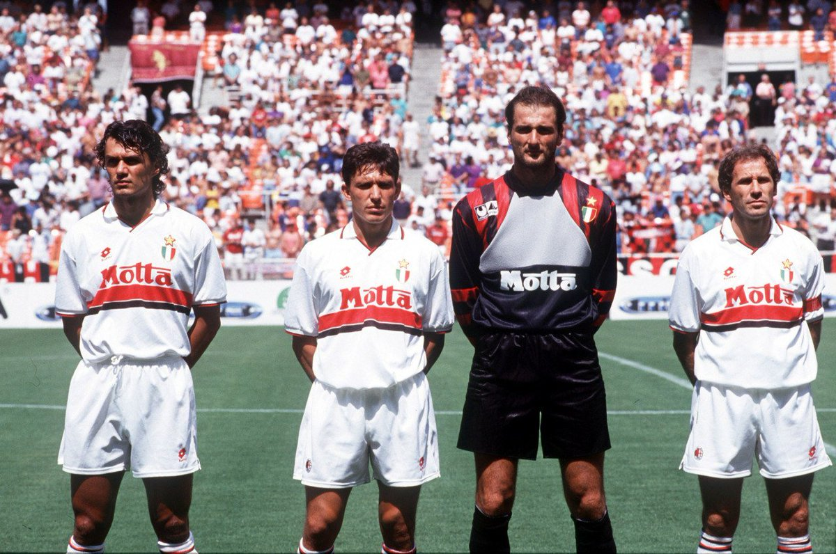 "90s Football on Twitter ""Paolo Maldini Stefano Eranio"