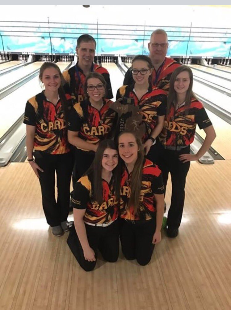 Just in! Our Lady Cards bowling team makes it #5 in 6 yrs as they take the D1 State Team Title! So very proud of these young ladies! https://t.co/KfGmSAThS6