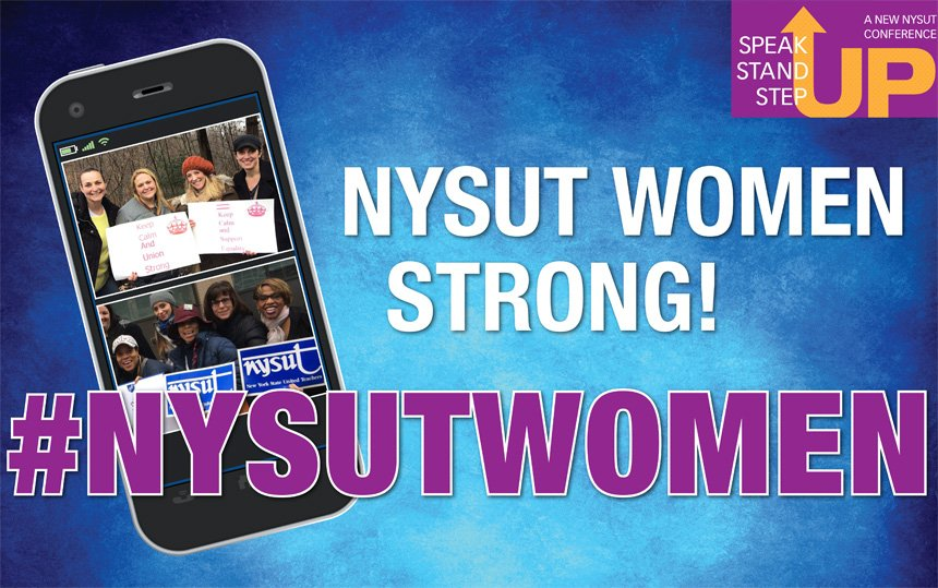 Welcome to the conference on women's priorities! Use the hashtag  #nysutwomen to join the convo! @NYSUTWomensComm @KarenMageeNYSUT https://t.co/tm2HbIj77v