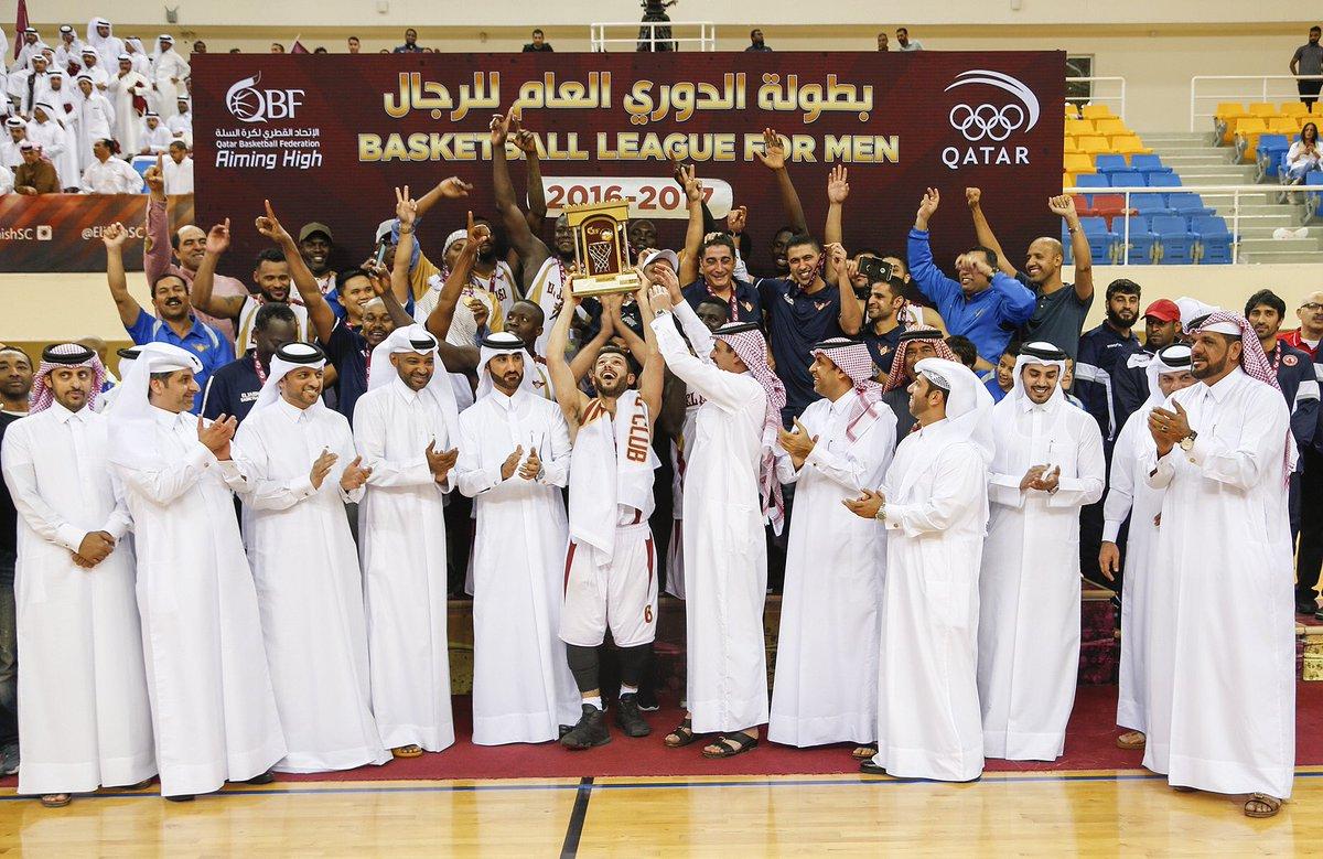 الجيش يتوج بلقب الدوري القطري لكرة السلة