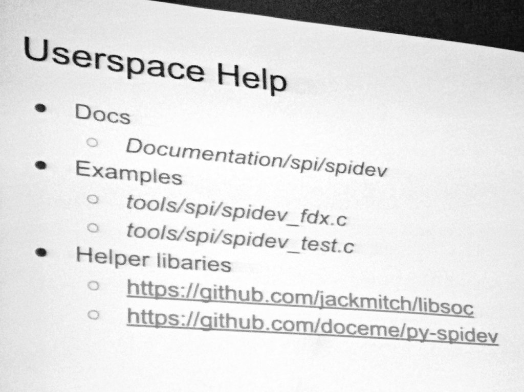 Linux Spidev Example