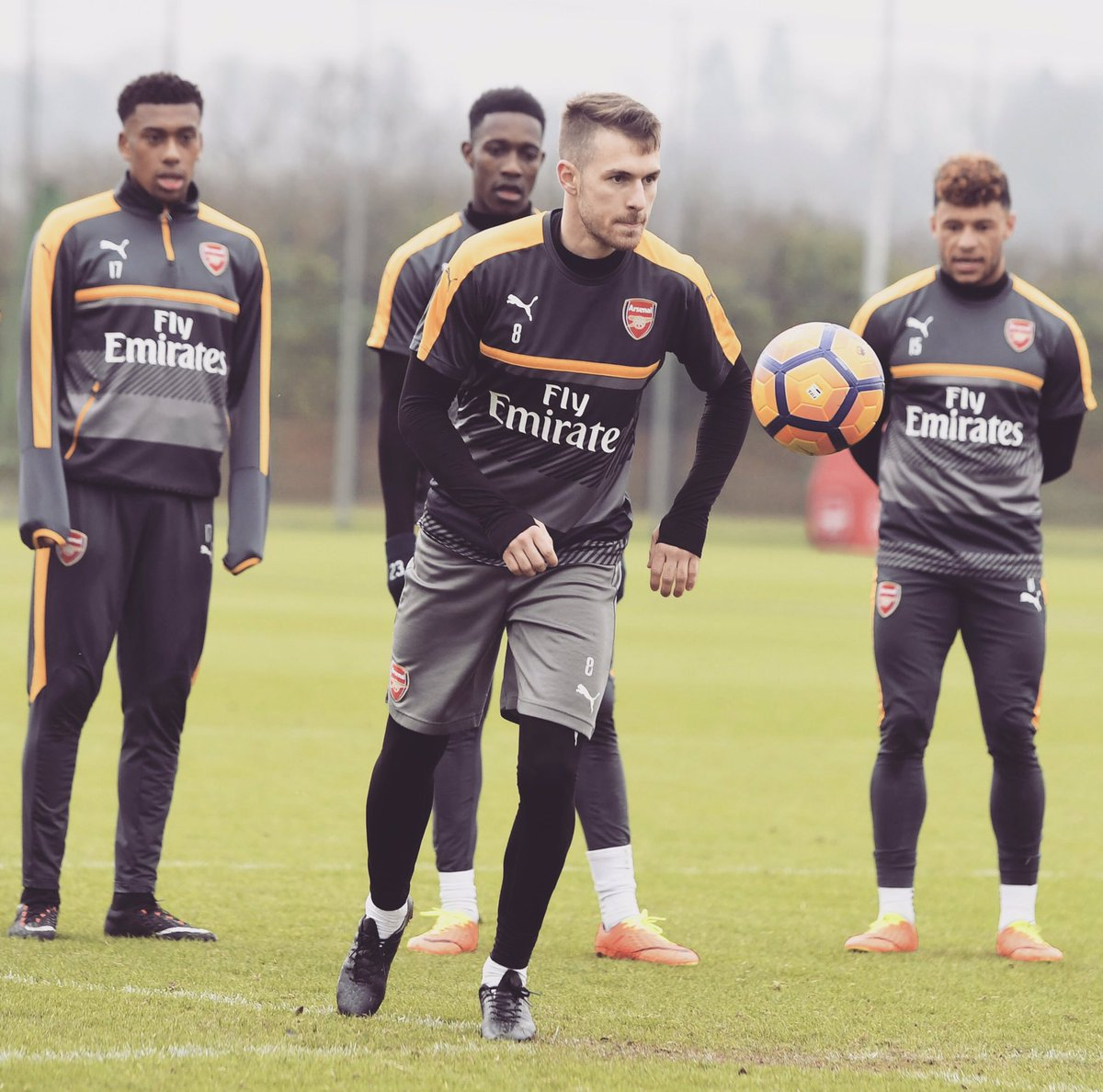 Good to be back ⚽️ #afc
