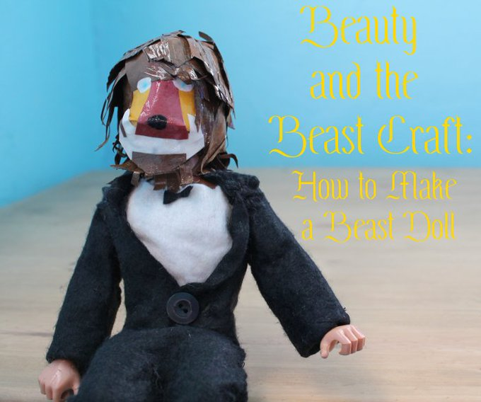 Beauty and the Beast Craft: How to Make a Beast Doll — MomStart