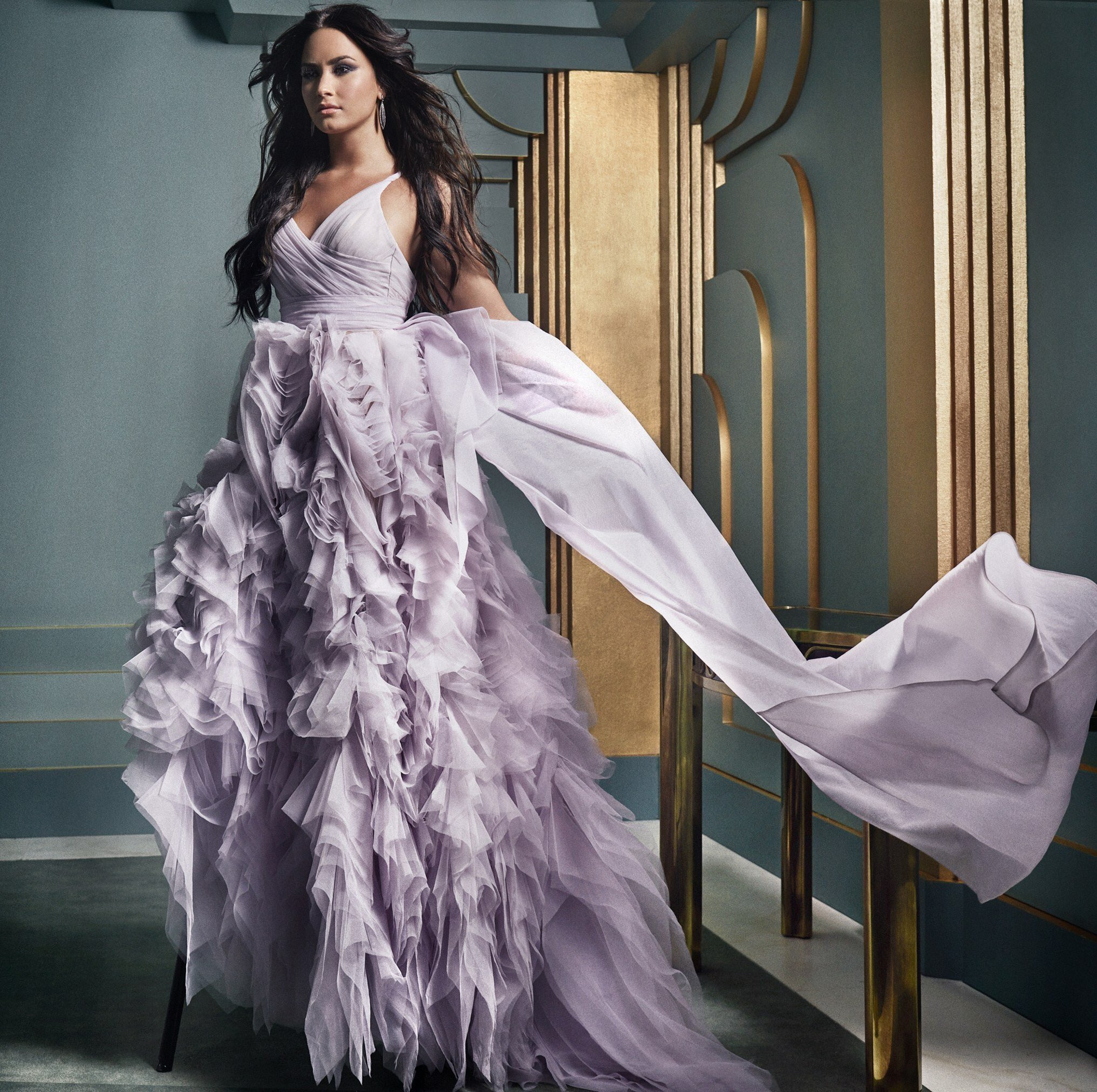 celeb news] Demi Lovato looking like a goddess for Vanity Fair OP ...