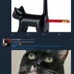 アッー!猫モチーフの鉛筆削りの画像がwこれはとんでもないアヘ顔!