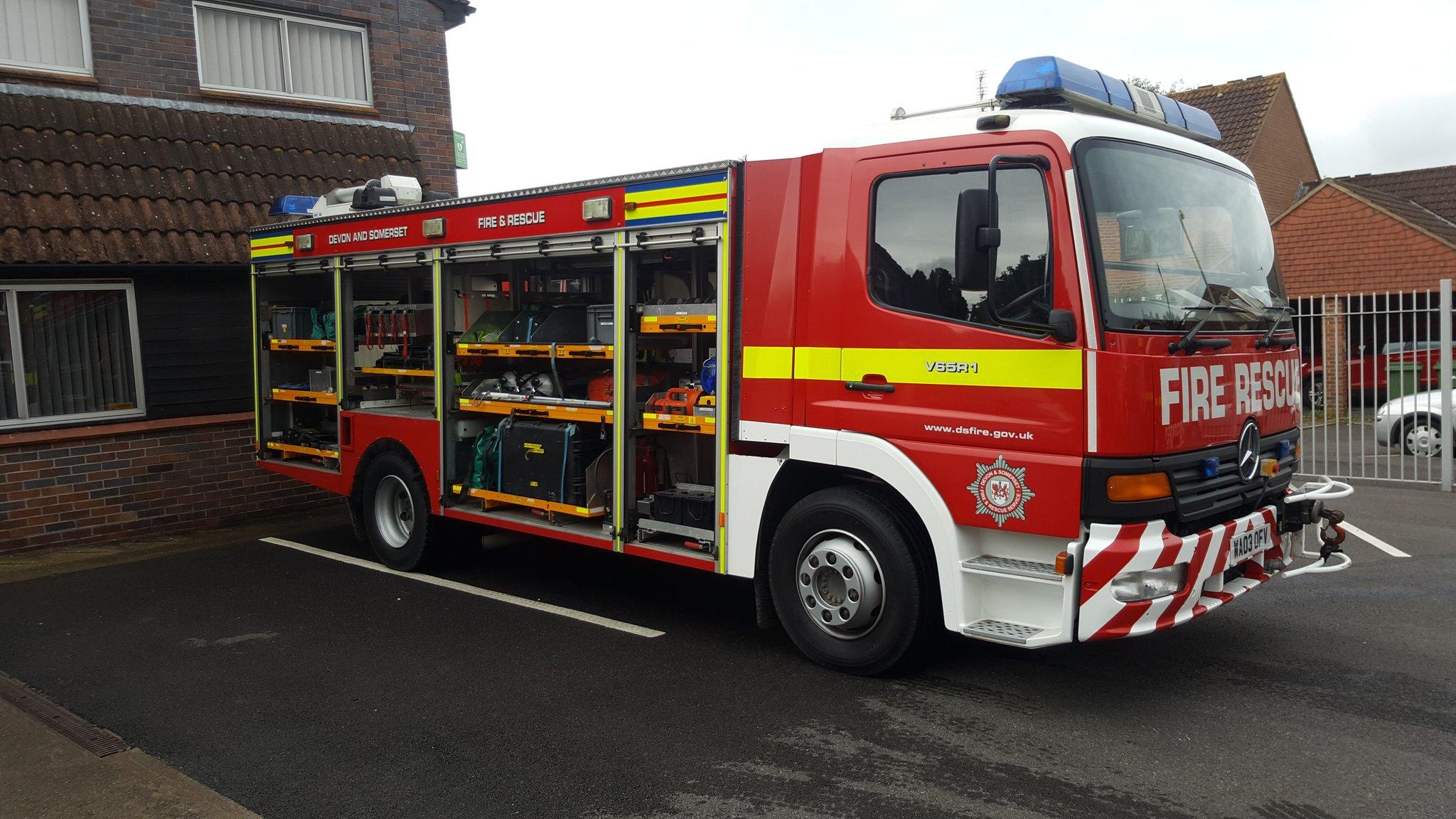 "Glastonbury Twitter: Glastonbury Fire On Twitter: ""0056 V65P1 V65R1 And. Crew"