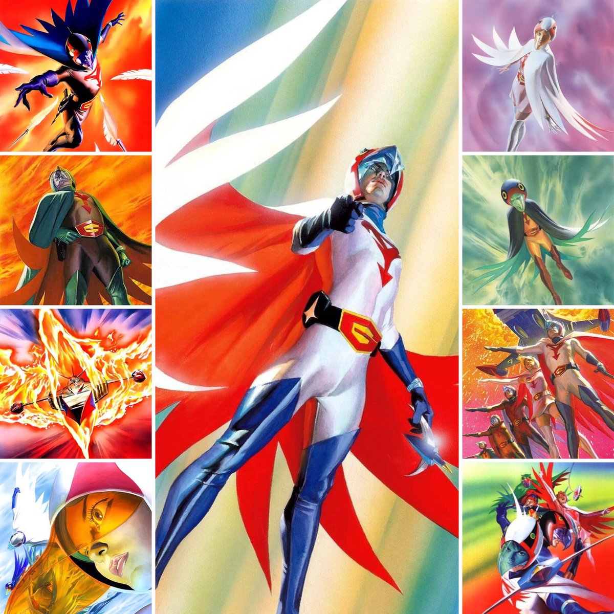 G Force Anime Characters : Zoltar battle of the planets g force gatchaman botp