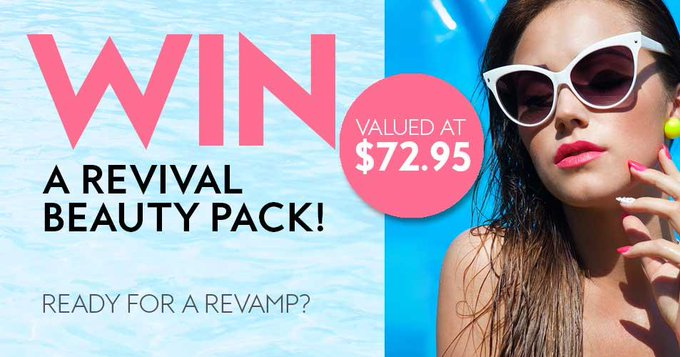 Win a revival beauty pack