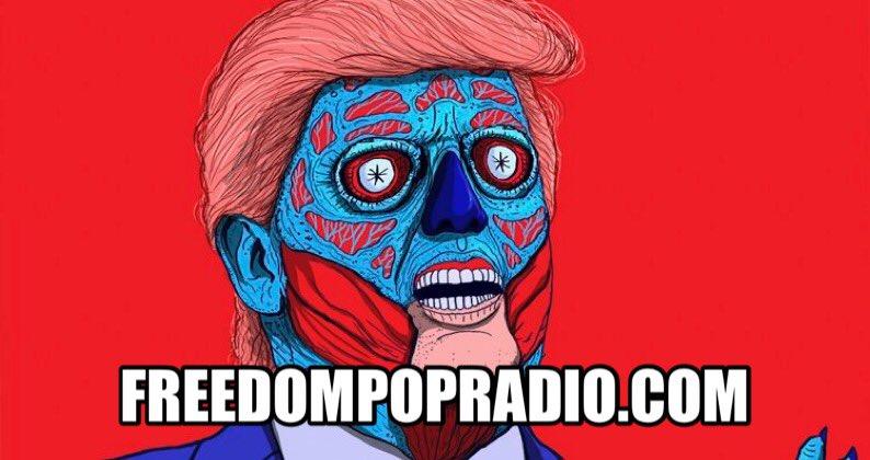 We're still like.. #Trump is now #PresidentElectTrump #WTF just happened? #GoodBadUglyShow @  http:// ln.is/freedompopradi o.com/tiQUn &nbsp; … <br>http://pic.twitter.com/Vgd45VX2bB
