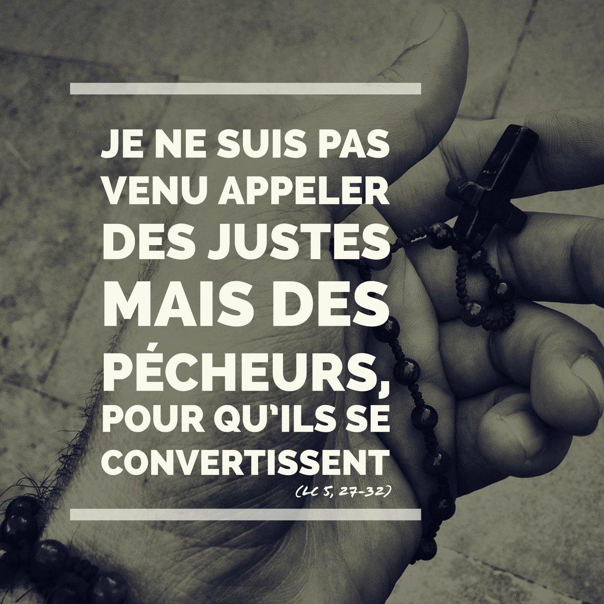 """Jeunes cathos Lyon on Twitter: """"[Carême] Jour 4 """"Je ne suis pas venu  appeler des justes mais des pécheurs, pour qu'ils se convertissent"""" Lc 5,  27-32 #Careme #Jesus #Priere… https://t.co/qMfWWAjyzh"""""""