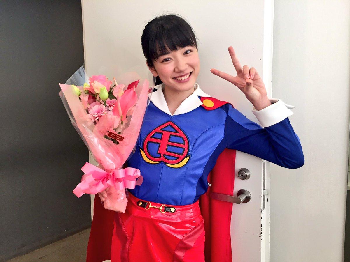 スーパーマンの永野芽郁