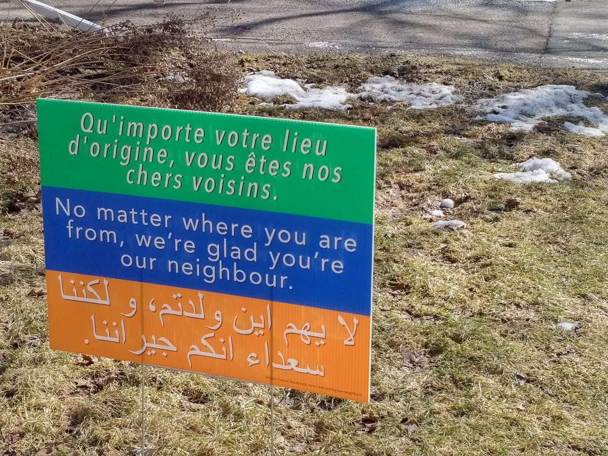 This is a #good sign in my neighbourhood. https://t.co/0tjB9rBg0T