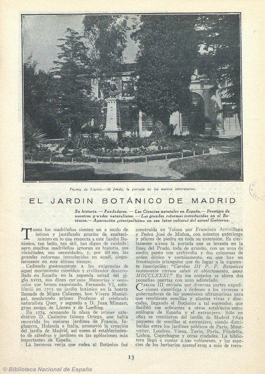 Fue catedr tico del madrile o jard n bot nico y acad mico for Biblioteca digital real jardin botanico
