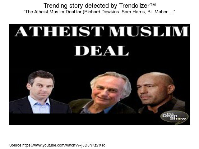 atheism updates on twitter the atheist muslim deal for