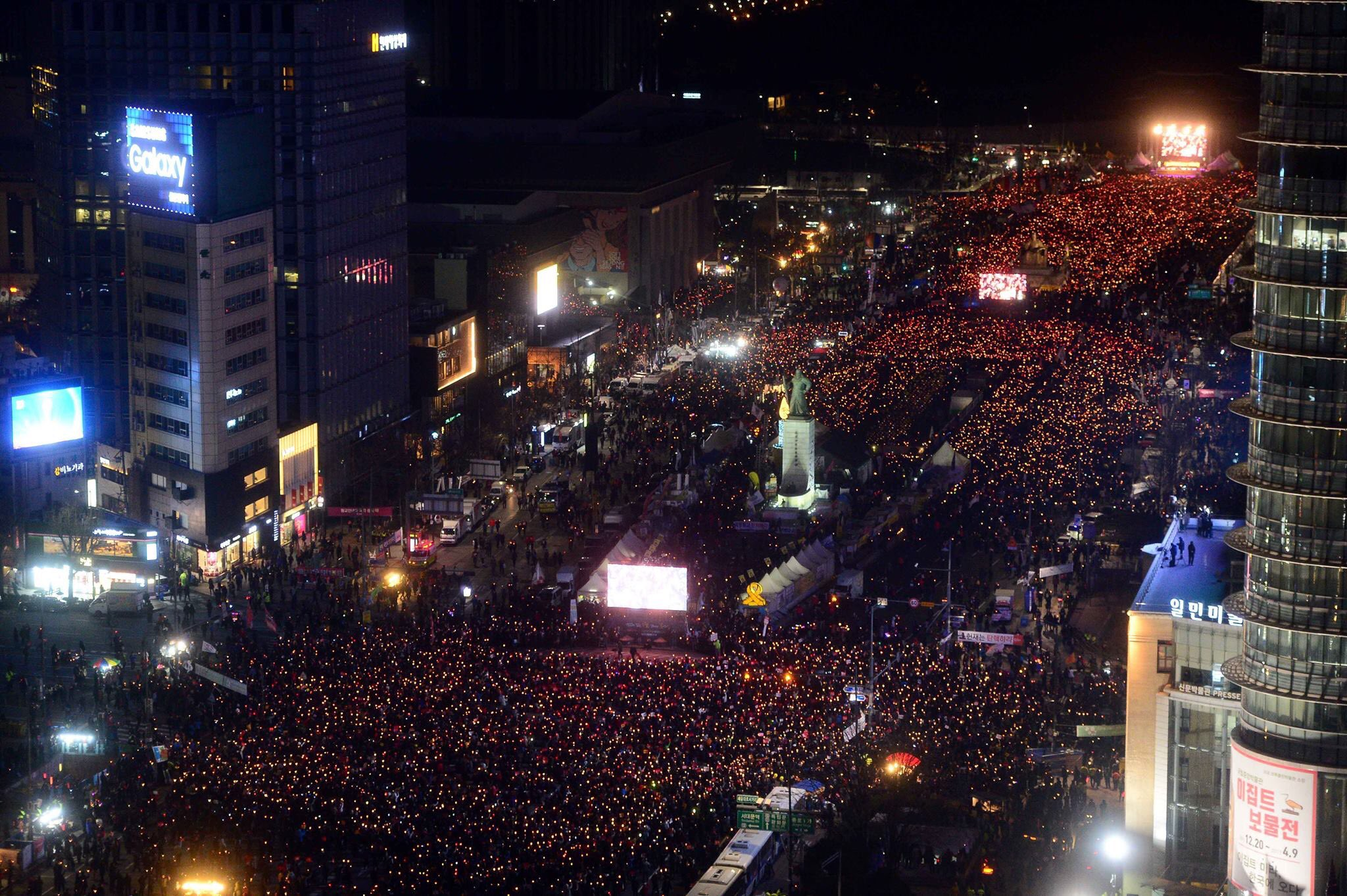 Thumbnail for South Korea: Over 1 Million Anti-Park Geun-Hye protesters rally ahead of impeachment verdict.