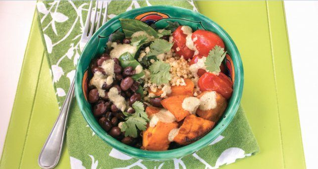 Gluten-Free Sweet Potato Millet Salad Bowls